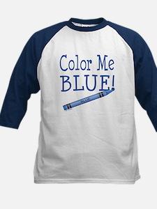 Color Me Blue! Kids Baseball Jersey