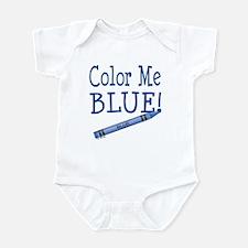 Color Me Blue! Infant Bodysuit