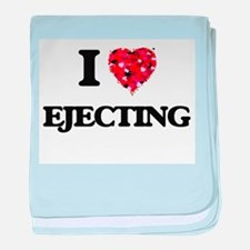 I love EJECTING baby blanket