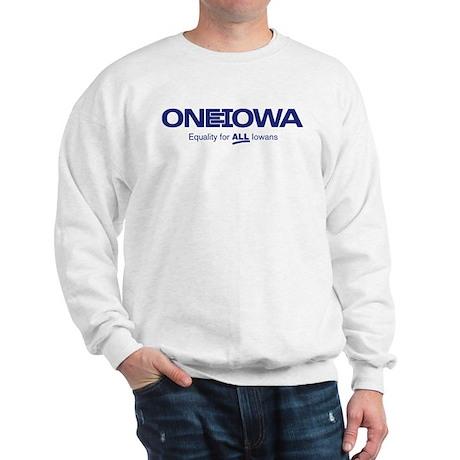 One Iowa Logo Sweatshirt