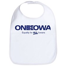One Iowa Logo Bib