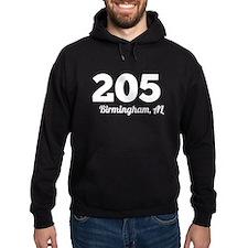 Area Code 205 Birmingham AL Hoodie