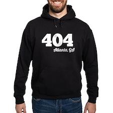 Area Code 404 Atlanta GA Hoodie