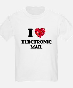 I love ELECTRONIC MAIL T-Shirt