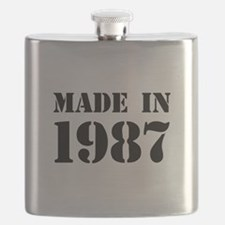 Made in 1987 Flask