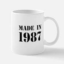 Made in 1987 Mugs