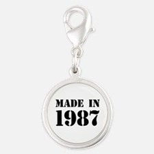 Made in 1987 Charms