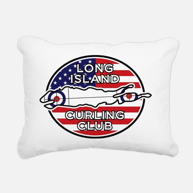 LICC USA Rectangular Canvas Pillow