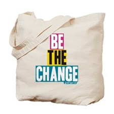 bechange.png Tote Bag
