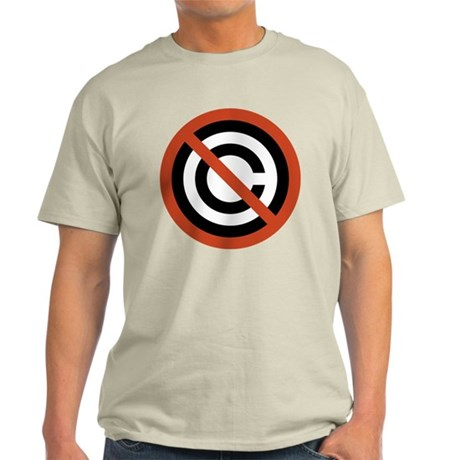 No Copyright Light T-Shirt