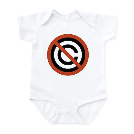 No Copyright Infant Bodysuit