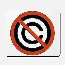 No Copyright Mousepad