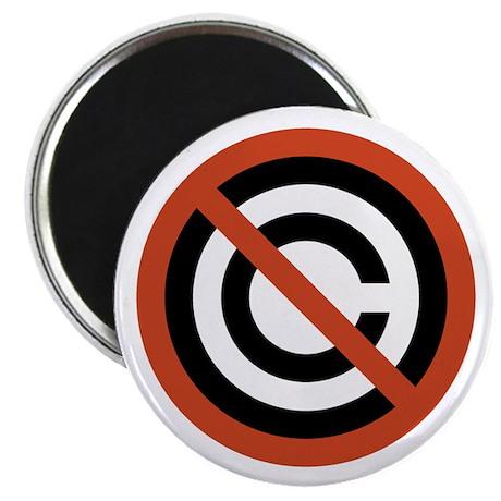 No Copyright Magnet