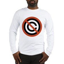 No Copyright Long Sleeve T-Shirt