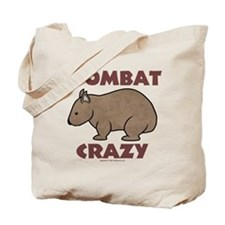 Wombat Crazy III Tote Bag