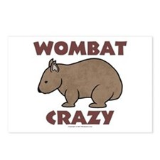 Wombat Crazy III Post Cards (Package of 8)