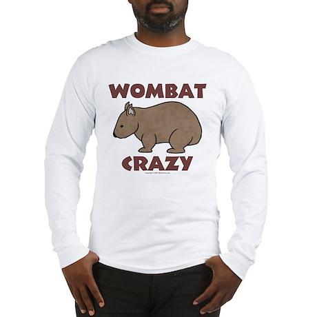 Wombat Crazy III Long Sleeve T-Shirt