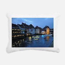 Scenic Strasbourg, Franc Rectangular Canvas Pillow
