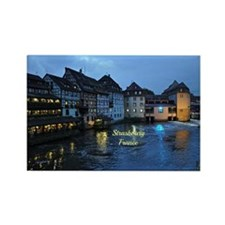 Scenic Strasbourg, France Rectangle Magnet
