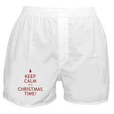 keepcalmxmas.png Boxer Shorts