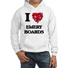 I love EMERY BOARDS Hoodie