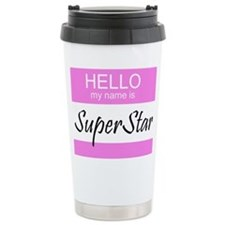 Cute Superstar Travel Mug