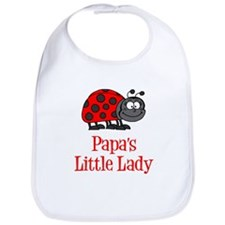 Papa's Little Lady Bib