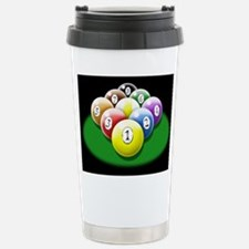 Cute Pool billiards 9 ball Travel Mug