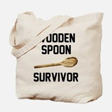 Wooden Spoon Survivor Tote Bag
