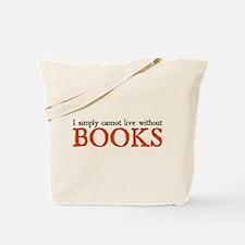 books.png Tote Bag