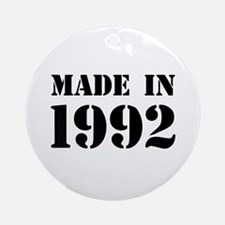 Made in 1992 Ornament (Round)