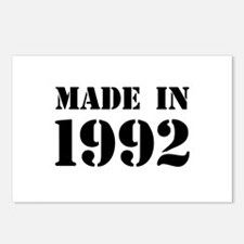 Made in 1992 Postcards (Package of 8)