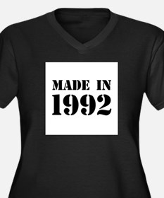 Made in 1992 Plus Size T-Shirt