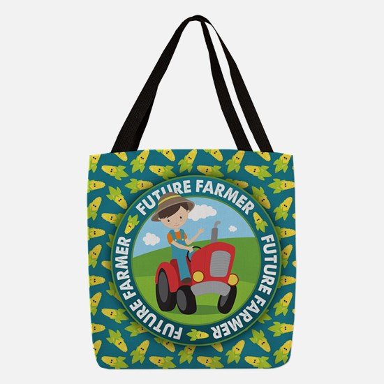 Future Farmer Polyester Tote Bag