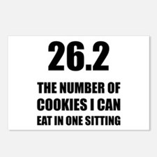 Cookies I Can Eat Marathon Postcards (Package of 8