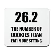Cookies I Can Eat Marathon Mousepad