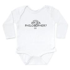 Am I A Philosopher? Body Suit