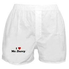 I Love Mr. Darcy Boxer Shorts
