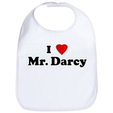 I Love Mr. Darcy Bib