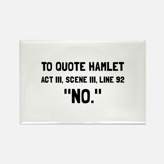 Hamlet Quote Magnets