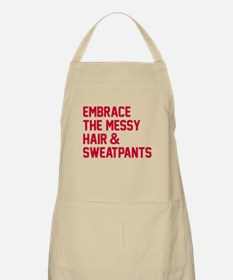 Embrace the messy hair Apron