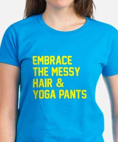 Embrace the messy hair Tee