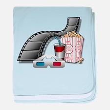 3D Movie Cinema baby blanket