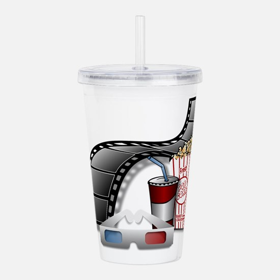 3D Movie Cinema Acrylic Double-wall Tumbler