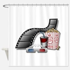 3D Movie Cinema Shower Curtain