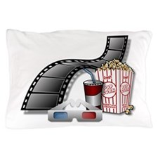 3D Movie Cinema Pillow Case