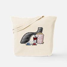 3D Movie Cinema Tote Bag