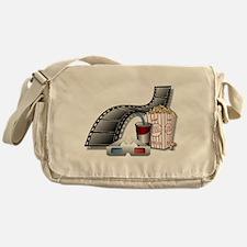 3D Movie Cinema Messenger Bag
