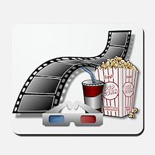 3D Movie Cinema Mousepad