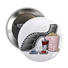 """3D Movie Cinema 2.25"""" Button"""